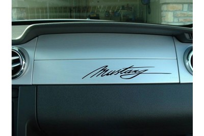 "5"" Mustang Signature Decal"